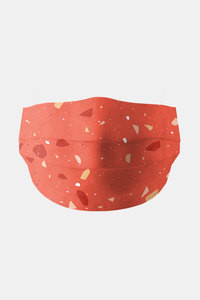 Buy Soxytoes Shatter Washable 100% Cotton Protective Mask with filter - Red