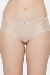 Buy Triumph Beauty-Full Lacy Seamless Hipster Brief - New Beige