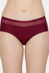 Buy Triumph  Seamless Silhouette Hipster Brief - Bordeaux