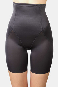 Buy Triumph High control Full Coverage With power-net lining High Waist Thigh Shaper - Black
