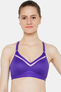 Buy Triumph Medium Impact Easy Movement Sports Bra - Purple
