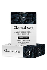 Buy Tnw The Natural Wash Handmade Activated Charcoal Soap With Anti-Pollution Effect - 100 G