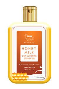 Buy Tnw The Natural Wash Honey Milk Skin Softening Shower Gel - 250 Ml