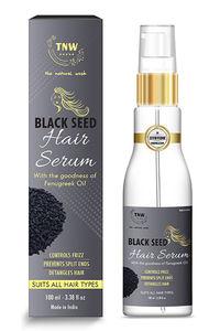 Buy Tnw The Natural Wash Black Seed Hair Serum - Controls Frizz - 100 Ml