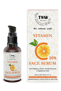 Buy Tnw The Natural Wash Vitamin C Face Serum For Glowing Youthful & Improved Skin - 30 Ml