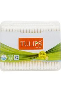 Buy Tulips Cotton Swabs - Flat Box 200's