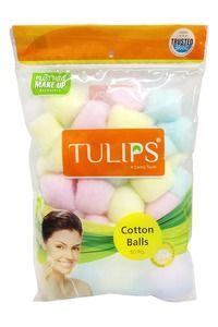 Buy Tulips Cotton Balls - Colour 50's