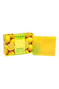Buy Vaadi Herbals Handmade Soap - Refreshing Lemon & Basil 75 gm