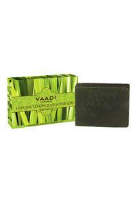 Buy Vaadi Herbals Handmade Scrub Soap - Enticing Lemongrass 75 gm