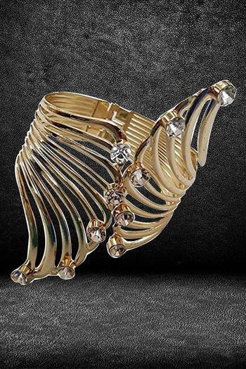 Youbella Stylish Party Wear Jewellery Gold Plated Kadaa For Women  Multi  Ybbn_91170