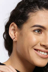 Buy YouBella Stylish Latest Design Butterfly Jewellery Gold Plated Stud Earrings for Women (Golden) (YBEAR_32436)