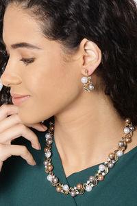 Buy YouBella Stylish Latest Design Necklace Set  Jewellery Set for Women (Multi-colour) (YBNK_5659)