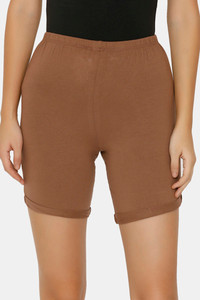 Buy Zalza Teens Organic Cotton Skin Fit Super Soft Outdoor Shorts - Brown