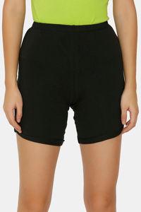 Buy Zalza Teens Organic Cotton Skin Fit Super Soft Outdoor Shorts - Black