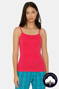 Buy Zalza Teens Organic Cotton Seamless Super Comfy Camisole - Pink