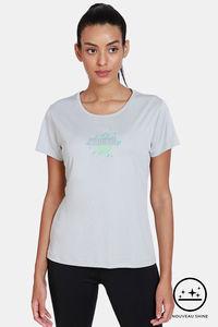 Buy Zelocity Easy Movement Nouveau Shine T-Shirt - Limestone