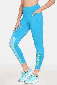 Buy Zelocity High Impact Nouveau Shine Legging -Methyl Blue