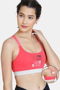 Buy Zelocity GRL Nouveau Stretch Sports Bra - Paradise Pink