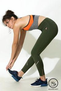 Buy Zelocity High Compression Nouveau Soft Legging - Green