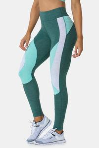 Buy Zelocity High Rise Nouveau Stretch Legging- Green Melange