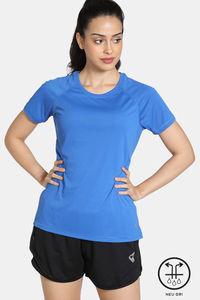 Buy Zelocity Easy Movement Neu Dri T-Shirt -Neon Blue