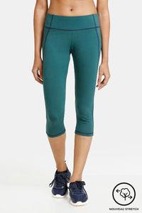 Buy Zelocity  Mid Rise Nouveau Stretch Capri - Green