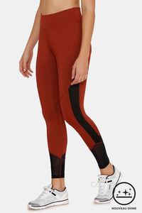 Buy Zelocity Nouveau Shine Legging - Brown