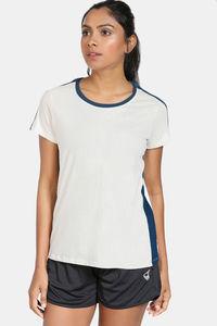 Buy Zelocity Easy Movement Nouveau Stretch T-Shirt - Cream