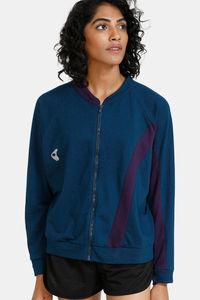 Buy Zelocity Easy Movement Jacket - Blue Opal