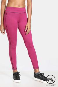 Buy Zelocity Nouveau Stretch Legging - Raspberry Radiance