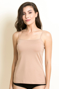 Buy Zivame Basic Square Neck Camisole- Skin
