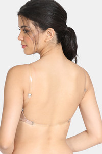 Buy Zivame Beautiful Basics Padded Non Wired 3/4th Coverage Backless Bra -Roebuck