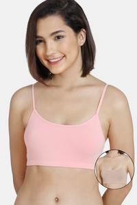 Buy Zivame GRL Double Layered Non-Wired Full Coverage Bra Pack Of 2 - Pink Roebuck
