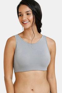 Buy Zivame BlouzeTM Padded Wired Full Coverage Pretty Back Bra-Shark Skin