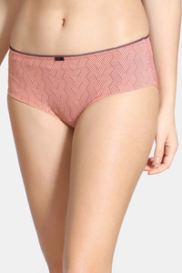 Buy Zivame Knotty Low Rise Full Coverage Hipster Panty - Orange