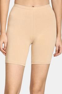 Buy Zivame Teens Knee Length Shorts - Skin
