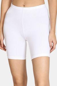 Buy Zivame Teens Knee Length Shorts - White