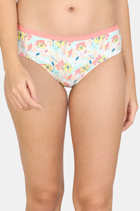 Buy Zivame Abstract Colorplay Hipster Low Rise Panty - Pink Pt