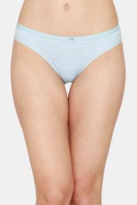 Buy Zivame Bikini Low Rise Full Coverage Panty - Sky Leaf