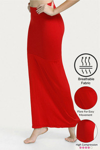 Buy Zivame High Compression Flared Mermaid Saree Shapewear- Red