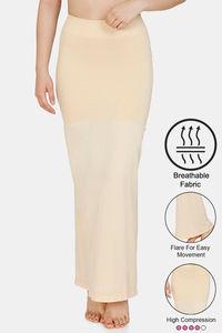 Buy Zivame High Compression Flared Mermaid Saree Shapewear- Skin