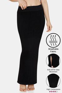 Buy Zivame High Compression Slit Mermaid Saree Shapewear - Black