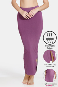 Buy Zivame High Compression Slit Mermaid Saree Shapewear - Purple