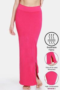 Buy Zivame High Compression Slit Mermaid Saree Shapewear - Rose