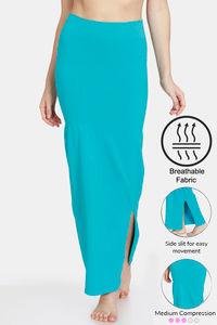 Buy Zivame High Compression Slit Mermaid Saree Shapewear - Turquoise Blue