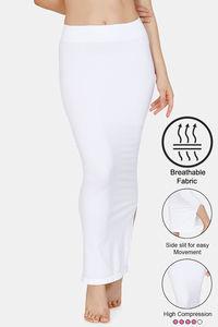 Buy Zivame High Compression Slit Mermaid Saree Shapewear - White