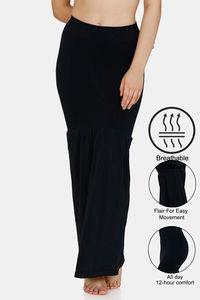 Buy Zivame All Day Flared Mermaid Saree Shape wear - Black