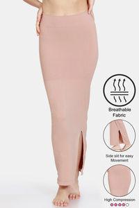 Buy Zivame Seamless All Day Mermaid Saree Shapewear - Nutmeg