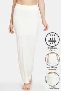 Buy Zivame Seamless All Day Mermaid Saree Shapewear - Antique White