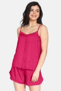 Buy Zivame Bridal Trousseau Rayon Shorts Set - Pink
